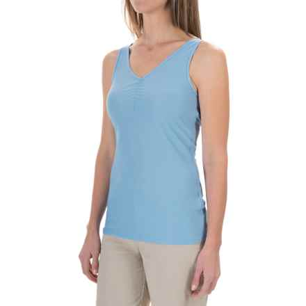 ExOfficio Give-N-Go V-Neck Tank Top (For Women) in Cabo - Closeouts