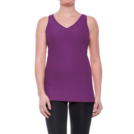 ExOfficio Give-N-Go V-Neck Tank Top (For Women) in Nouveau