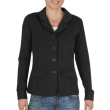 ExOfficio Go-There Blazer - Dri-Release®, FreshGuard®, French Terry (For Women) in Black - Closeouts