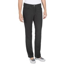 ExOfficio Go-There Jeans - French Terry (For Women) in Black - Closeouts