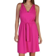 ExOfficio Go-To 24-Hour Dress - Sleeveless (For Women) in Pizazz - Closeouts