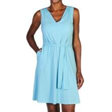 ExOfficio Go-To 24-Hour Dress - Sleeveless (For Women) in Tropez - Closeouts