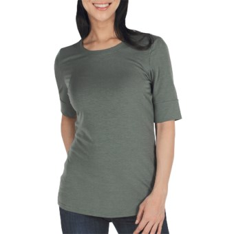 ExOfficio Go-To Shirt - Crew, Elbow Sleeve (For Women) in Rosemary
