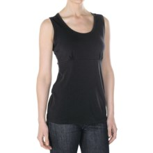 ExOfficio Go-To Shirt - Sleeveless (For Women) in Black - Closeouts