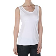 ExOfficio Go-To Shirt - Sleeveless (For Women) in White - Closeouts