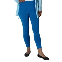 ExOfficio Go-To Stretch Jersey Leggings - Dri-Release®, FreshGuard® (For Women) in South Pacific - Closeouts