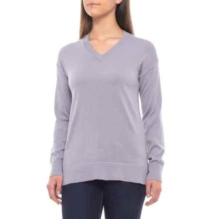 ExOfficio Granville Sweater (For Women) in Lilac Grey - Closeouts