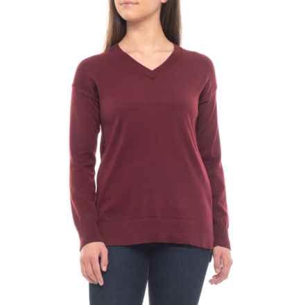 ExOfficio Granville Sweater (For Women) in Malbec - Closeouts