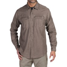 ExOfficio Hallstatt Shirt - Long Sleeve (For Men) in Cigar - Closeouts
