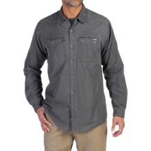 ExOfficio Hallstatt Shirt - Long Sleeve (For Men) in Dark Charcoal - Closeouts