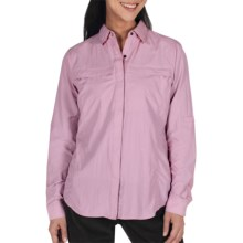 ExOfficio Halo Insect Shield® Shirt - Long Sleeve (For Women) in Sorbet - Closeouts
