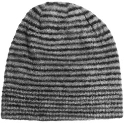 ExOfficio Irresistible Beanie Hat - Dolce Stripe (For Women) in Dark Pebble