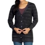 ExOfficio Irresistible Dolce Stripe Cardigan Sweater (For Women)