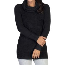 ExOfficio Irresistible Dolce Sweater - Cowl Neck (For Women) in Black - Closeouts