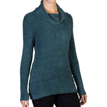 ExOfficio Irresistible Dolce Sweater - Cowl Neck (For Women) in Marina - Closeouts