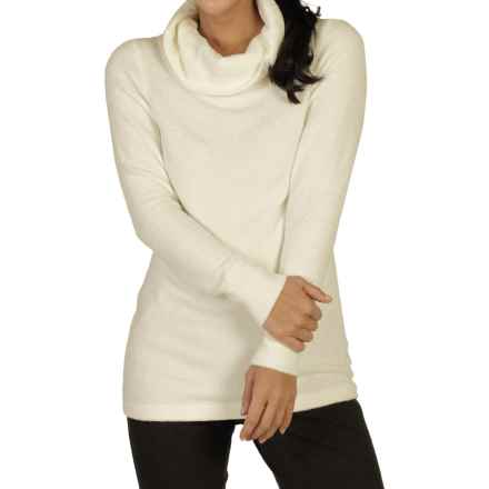 ExOfficio Irresistible Dolce Sweater - Cowl Neck (For Women) in Vellum - Closeouts