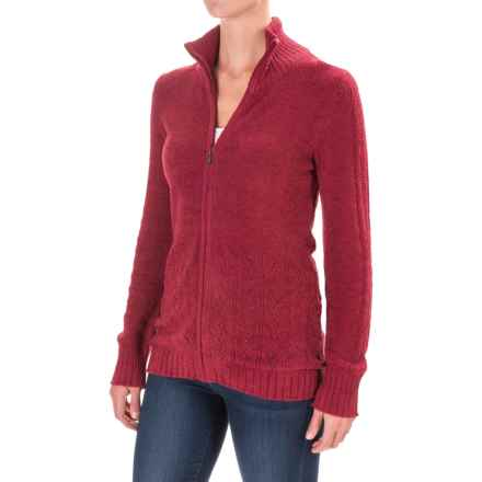 ExOfficio Irresistible Dolce Sweater (For Women) in Tango - Closeouts