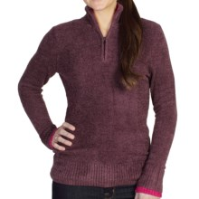 ExOfficio Irresistible Dolce Sweater - Zip Neck (For Women) in Antique - Closeouts