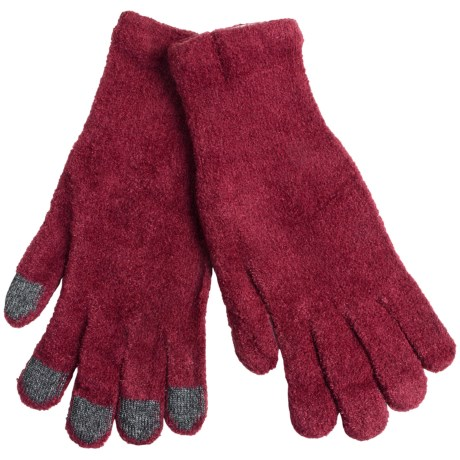 ExOfficio Irresistible Dolce Tablet Gloves (For Women) in Framboise