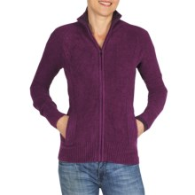 ExOfficio Irresistible Neska Cardigan Sweater - Full Zip (For Women) in Plum - Closeouts