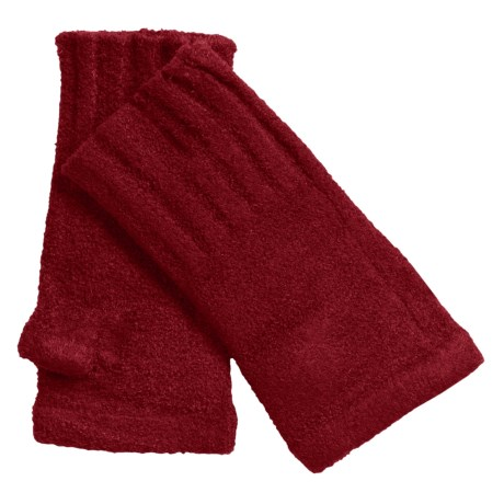 ExOfficio Irresistible Neska Fingerless Mittens (For Women) in Framboise