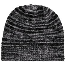 ExOfficio Irresistible Neska Stripe Beanie Hat (For Women) in Dark Pebble - Closeouts