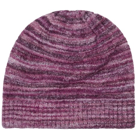 ExOfficio Irresistible Neska Stripe Beanie Hat (For Women) in Plum
