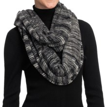 ExOfficio Irresistible Neska Stripe Infinity Scarf (For Women) in Dark Pebble - Closeouts