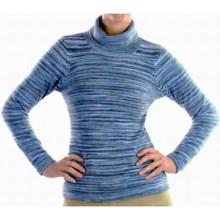 ExOfficio Irresistible Neska Stripe Turtleneck - Long Sleeve (For Women) in Rainier - Closeouts