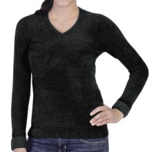 ExOfficio Irresistible Neska Sweater - V-Neck (For Women) in Black - Closeouts