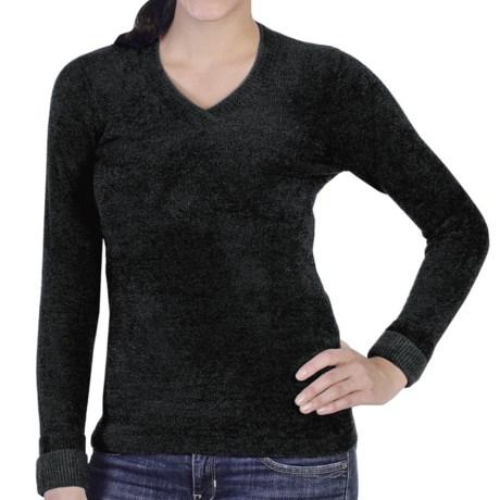 ExOfficio Irresistible Neska Sweater - V-Neck (For Women) in Black