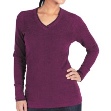 ExOfficio Irresistible Neska Sweater - V-Neck (For Women) in Plum - Closeouts