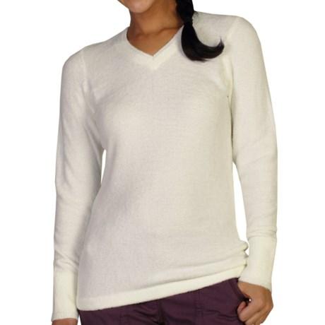 ExOfficio Irresistible Neska Sweater - V-Neck (For Women) in Vellum