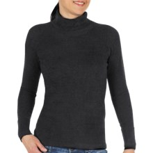 ExOfficio Irresistible Neska Turtleneck - Long Sleeve (For Women) in Black - Closeouts