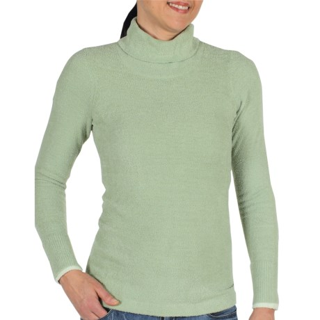 ExOfficio Irresistible Neska Turtleneck - Long Sleeve (For Women) in Seafoam