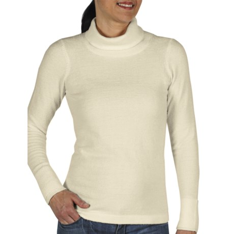ExOfficio Irresistible Neska Turtleneck - Long Sleeve (For Women) in Winter White