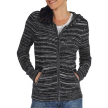 ExOfficio Irresistible Zip Hoodie Sweatshirt - Neska Stripe (For Women) in Dark Pebble - Closeouts