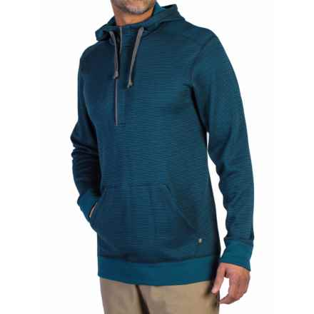 ExOfficio Isoclime Hoodie - UPF 20+ (For Men) in Navy/Galaxy - Closeouts
