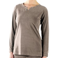 ExOfficio Jandiggity Fleece Shirt - Long Sleeve (For Women) in Granite - Closeouts