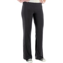 ExOfficio Jandiggity Grid Fleece Pants (For Women) in Black - Closeouts
