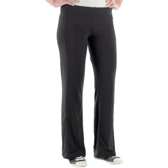 ExOfficio Jandiggity Grid Fleece Pants (For Women) in Black
