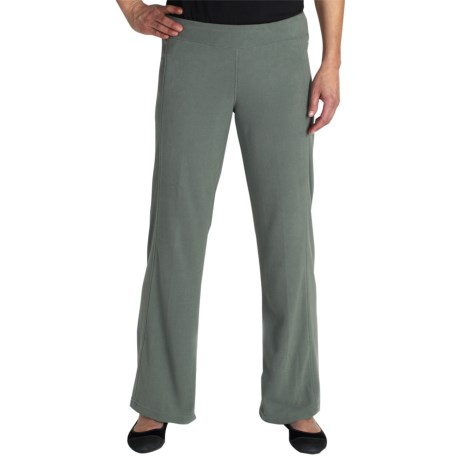 ExOfficio Jandiggity Grid Fleece Pants (For Women) in Rosemary