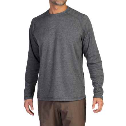 ExOfficio Javano Shirt - Long Sleeve (For Men) in Black - Closeouts