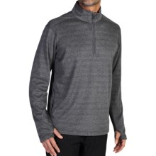 ExOfficio Javano Shirt - UPF 15+, Zip Neck, Long Sleeve (For Men) in Black - Closeouts