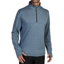 ExOfficio Javano Shirt - UPF 15+, Zip Neck, Long Sleeve (For Men) in Galaxy - Closeouts