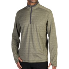 ExOfficio Javano Shirt - UPF 15+, Zip Neck, Long Sleeve (For Men) in Highlands - Closeouts