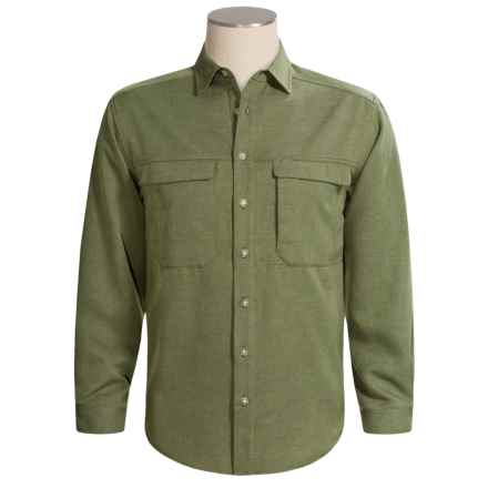 ExOfficio Joshua Shirt - Long Sleeve (For Men) in Sage - Closeouts