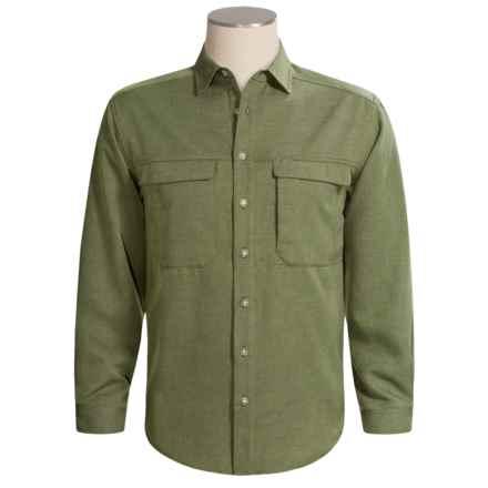 ExOfficio Joshua Shirt - Long Sleeve (For Men) in Sage - Closeouts