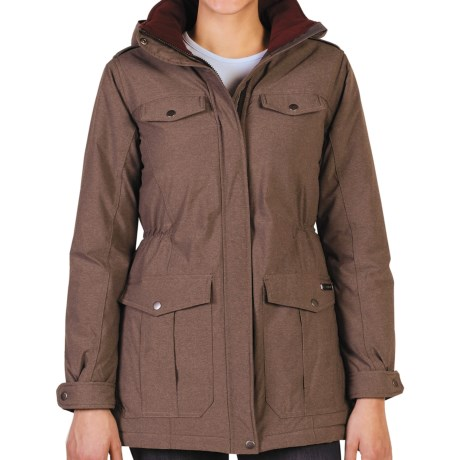 ExOfficio Kahiltna Parka - Insulated (For Women) in Coffee