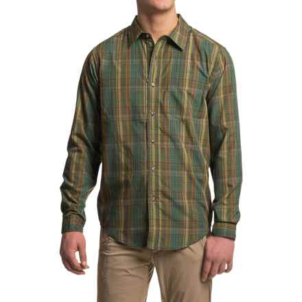 ExOfficio Kelion Plaid Shirt - Long Sleeve (For Men) in Hemlock - Closeouts
